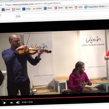 Liveström – Musik och samvete
