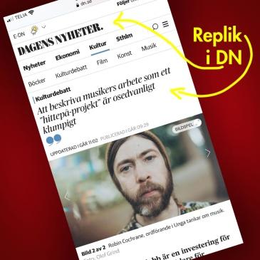 Replik i Dagens Nyheter
