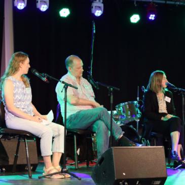Lisa Grotherius representerade UTOM på Jazzfesten i Västerås