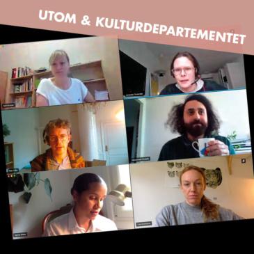 UTOM träffade Kulturdepartementet